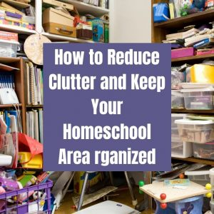 reduce homeschool clutter